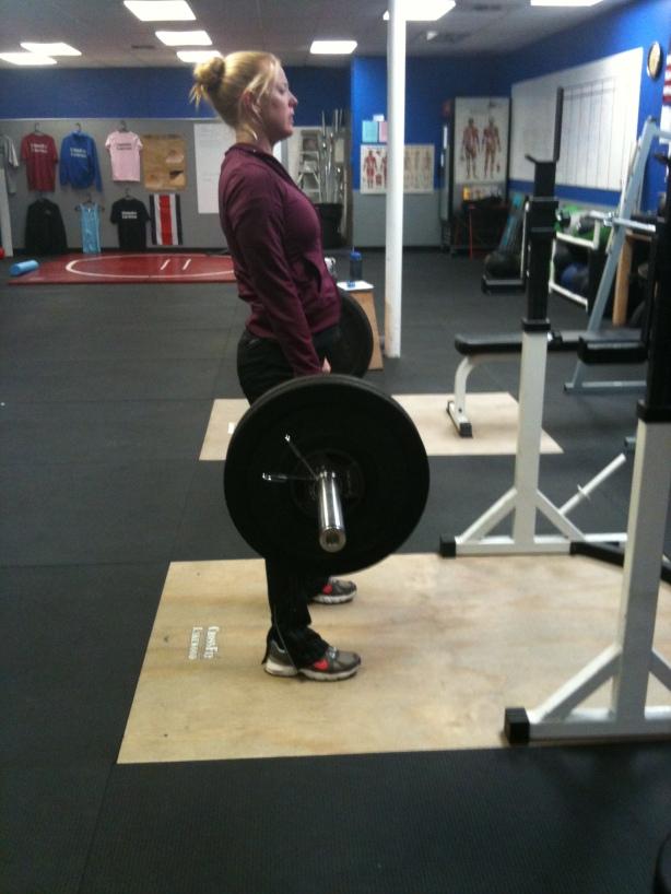 CrossFit Lakewood, Smashby Training, CrossFit in Denver, Kristin Deadlifting
