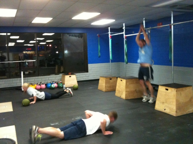 Clayton Kristin Jamie Burpees, Smashby Training, CrossFit Lakewood, CrossFit in Denver