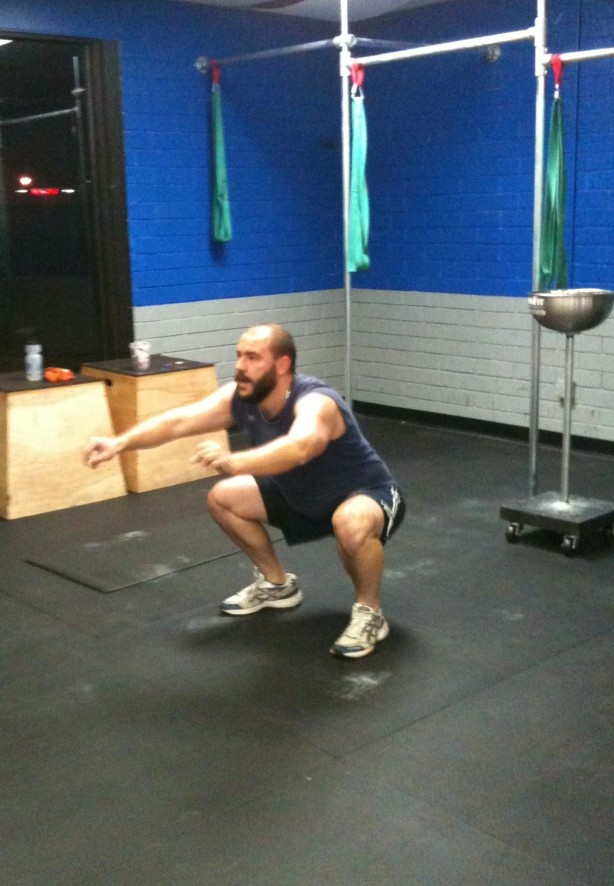 Jamie Air Squat, CrossFit Lakewood, CrossFit in Denver, Smashby Training