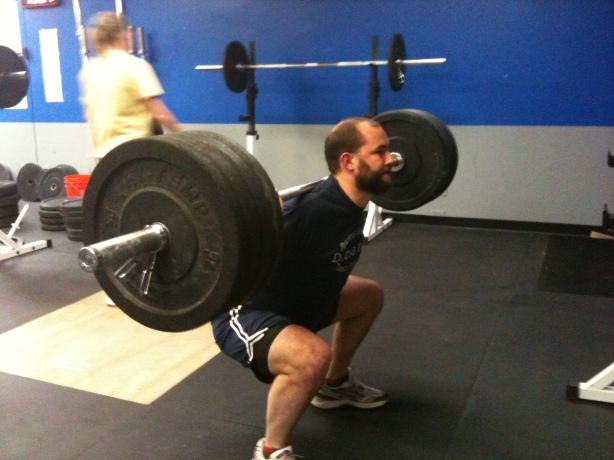 Jamie back squat, crossfit, smashby training, crossfit lakewood, crossfit in denver