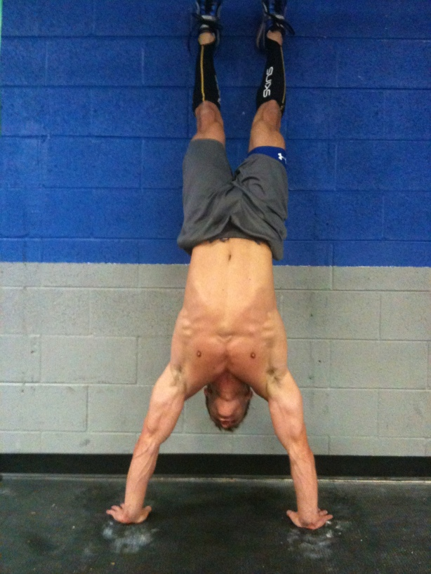 CrossFit, Smashby Training, CrossFit Lakewood, CrossFit in Denver, Greg Handstand Push-Up