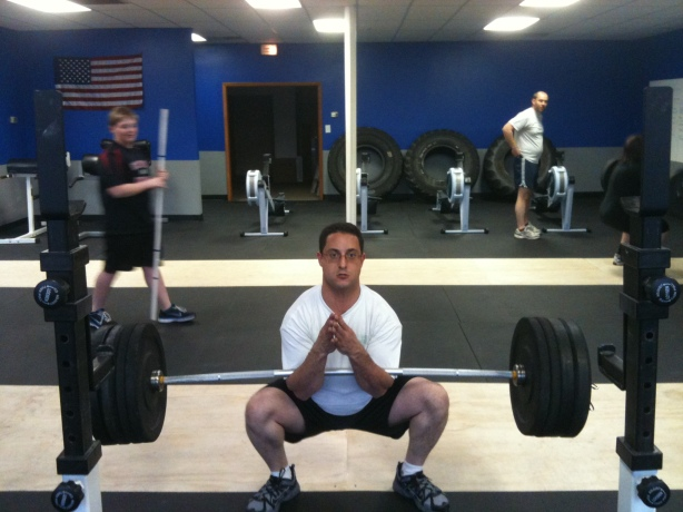 CrossFit, CrossFit Lakewood, Smashby Training, Zercher Squat, Alon Crushing the Zercher Squat