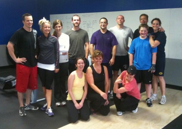 CrossFit, CrossFit Lakewood, Sunday Funday, Smashby Training, 5/15/11 Group