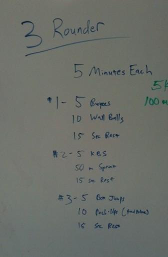 CrossFit, CrossFit Lakewood, Smashby Training, Sunday Funday, 5-8-11 WOD