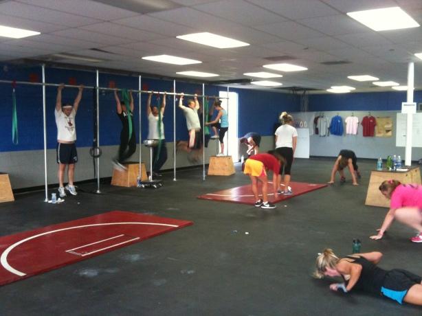 CrossFit, Smashby Training, CrossFit Lakewood, Burpee, Pull-Up