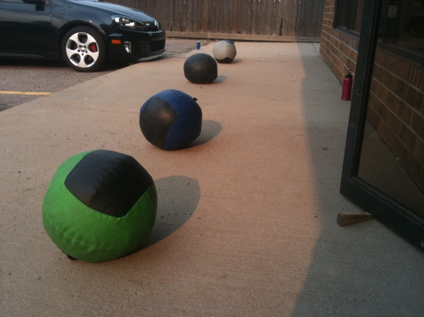 CrossFit, Smashby Training, CrossFit Lakewood, The Calm Before The Storm, Medicine Balls