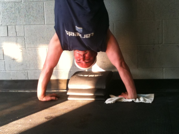 CrossFit, Smashby Training, CrossFit Lakewood, CrossFit in Denver, Free CrossFit, Jamie Handstand Push-Up