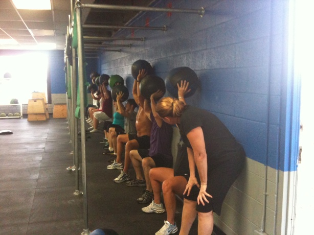 CrossFit, Smashby Training, Sunday Funday, Wall Sits