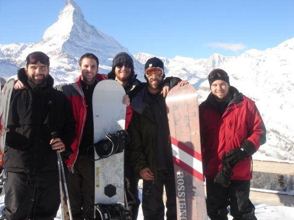 CrossFit, Smashby Training, Zermatt, Switzerland, Snowboarding, Matterhorn