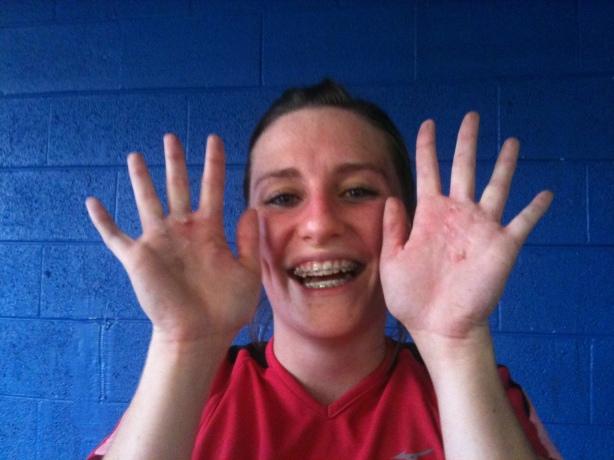 CrossFit, Smashby Training, CrossFIt Lakewood, Janna Hand Tear
