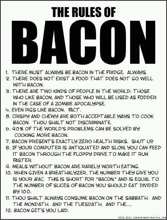 CrossFit, Smashby Training, Cross Fit, The Rules of Bacon, Bacon, I love Bacon