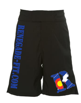 CrossFit, CrossFit Lakewood, Smashby Training, Renegade Fitness, Renegade Fitness Fight Shorts, Colorado R, Preorder Fight Shorts