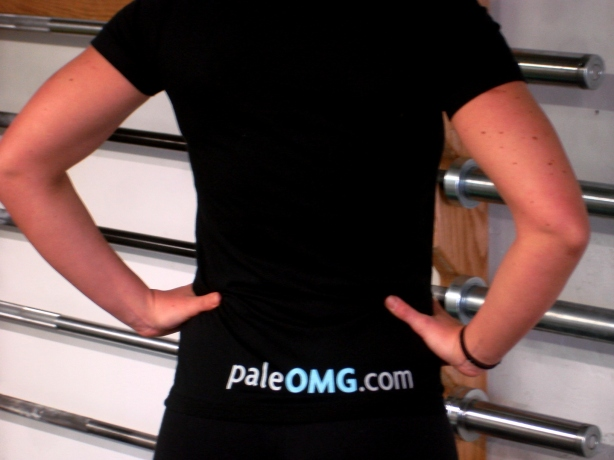 CrossFit, Smashby Training, PaleOMG, PaleOMG Black T Back