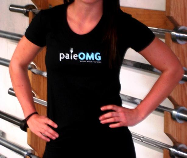 CrossFit, Smashby Training, PaleOMG, PaleOMG Black T Front