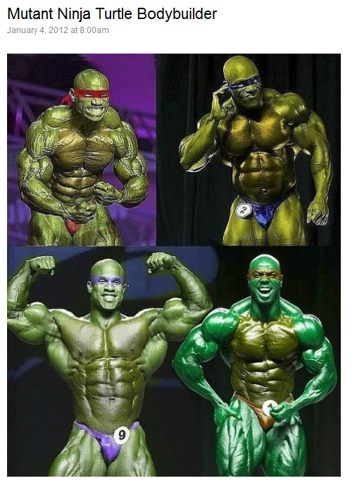 crossfit, smashby training, mutant ninja turtle bodybuilder