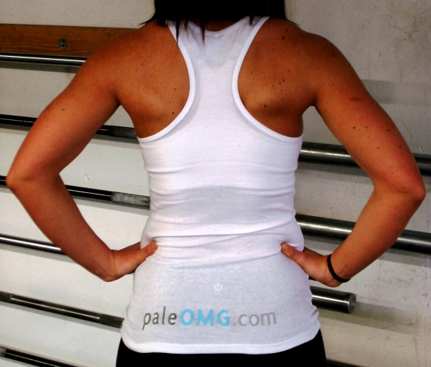 CrossFit, Smashby Training, PaleOMG, PaleOMG White Tank Back