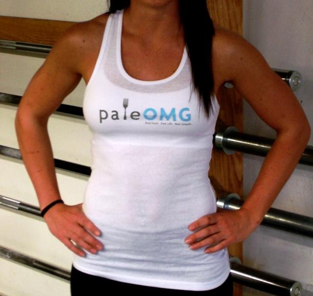 CrossFit, Smashby Training, PaleOMG, PaleOMG white tank front