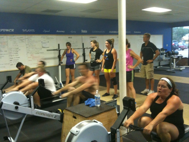 Smashby Training, Sunday Funday, CrossFit Lakewood, 7-29 WOD and Results, Rowing