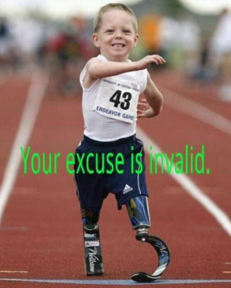 CrossFit, Smashby Training, Your Excuse is Invalid