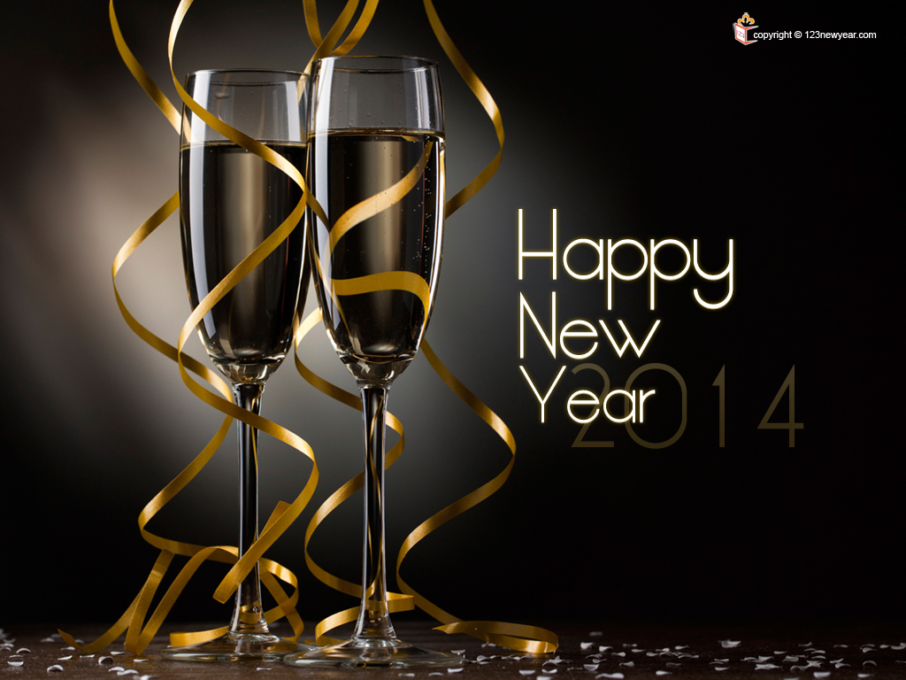 happy new year wishes 2014 wallpapers